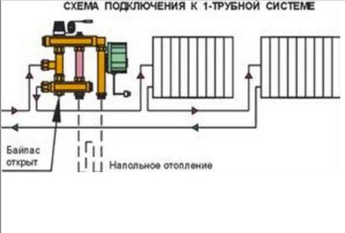 схема_подключения_к_однотрубной_системе